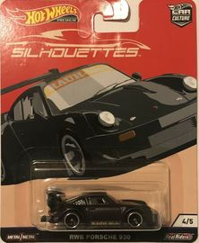 RWB Porsche 930 | Model Cars | 2019 Hot Wheels Car Culture Silhouettes RWB Porsche 930