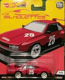 Nissan Skyline Silhouette | Model Cars | 2019 Hot Wheels Car Culture Silhouettes Red Nissan Skyline Silhouette