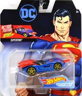 Superman | Model Cars | 2019 Hot Wheels DC Comics Character Cars Superman