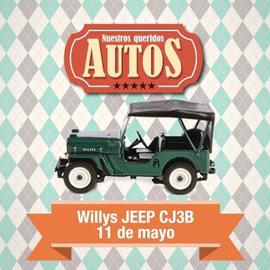 Willys Jeep CJ3B (1955)   Model Cars