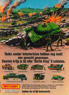 Tanks zonder infanteristen hebben nog nooit een gevecht gewonnen. print ads 4ba63f0c e54c 4757 ba1d d7b67574813e medium
