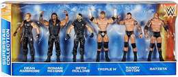 Wwe wrestling dean ambrose%252c roman reigns%252c seth rollins%252c triple h%252c randy orton%252c and batista exclusive action figure 6 pack action figure sets 8164d321 6941 4070 8cb4 719c816a7b23 medium