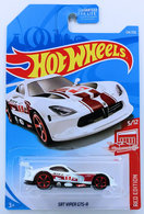 SRT Viper GTS-R | Model Cars | HW 2019 - Collector # 124/250 - Red Edition 5/12 - SRT Viper GTS-R - White - USA Card - Target Exclusive