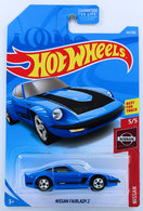 Nissan Fairlady Z | Model Cars | HW 2019 - Collector # 054/250 - Nissan 5/5 - Nissan Fairlady Z - Blue - USA Card