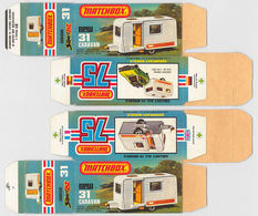 Matchbox Miniatures Picture Box - L Type - Caravan | Collectible Packaging