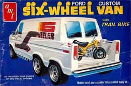 Ford Custom Six-Wheel Van | Model Truck Kits