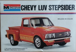 Chevy LUV Stepsider | Model Truck Kits