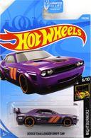 Dodge Challenger Drift Car | Model Racing Cars | 2019 Hot Wheels Nightburnerz Dodge Challenger Drift Car Purple