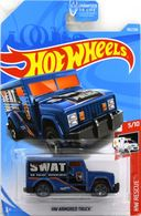 HW Armored Truck | Model Trucks | 2019 Hot Wheels HW Rescue HW Armored Truck Dark Blue