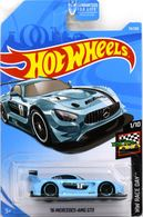 '16 Mercedes-AMG GT3 | Model Racing Cars | 2019 Hot Wheels HW Race Day '16 Mercedes-AMG GT3 Metallic Light Blue