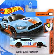 Custom '18 Ford Mustang GT | Model Racing Cars | 2019 Hot Wheels Muscle Mania Custom '18 Ford Mustang GT