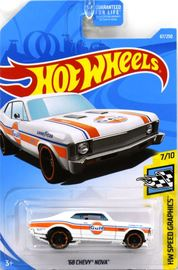 '68 Chevy Nova | Model Cars | 2019 Hot Wheels HW Speed Graphics '68 Chevy Nova