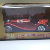 1932 Alfa Romeo 2300 | Model Racing Cars
