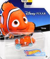 Nemo | Model Cars | 2019 Hot Wheels Disney Pixar Character Cars Nemo Orange