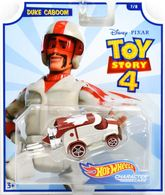 Duke Caboom | Model Cars | 2019 Hot Wheels Toy Story 4 Character Cars Duke Caboom