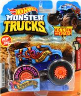 Abyss-Mal | Model Trucks | 2019 Hot Wheels Monster Trucks with Connect and Crash Car Abyss-Mal