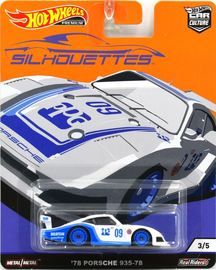 '78 Porsche 935-78 | Model Cars | 2019 Hot Wheels Car Culture Silouettes '78 Porsche 935-78
