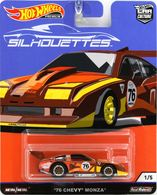 '76 Chevy Monza | Model Cars | 2019 Hot Wheels Car Culture Silouettes '76 Chevy Monza