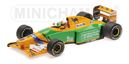 Benetton ford b192   martin brundle   3rd place british grand prix 1992 model racing cars dd2669f4 e624 4c1c 8d88 59694972d464 medium