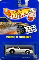 Corvette Stingray       Model Cars   Hot Wheels Gleam Team Edition Corvette Stingray Textured Dark Chrome
