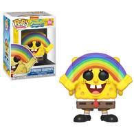 Spongebob squarepants %2528with rainbow%2529 vinyl art toys c4450cc7 4e3d 4df0 9351 b0e2f1393558 medium