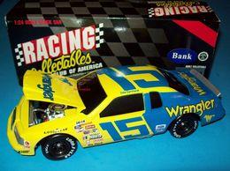 Dale Earnhardt 1983 Wrangler #15 Ford Thunderbird 1/24 Vintage NASCAR RCCA BWB | Coin Banks
