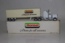 Road Champs Diecast Kenworth Hormel Meats Tractor Trailer Semi Truck , HO/1:87 | Model Vehicle Sets