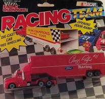 Racing champions tractor trailer semi 03101 geoff bodine racing die cast 1991 model vehicle sets fd4b5994 b12d 4a0d 9820 90951aefd463 medium