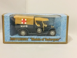 Matchbox 1918 Crossley 20/25 RAF Tender | Model Trucks