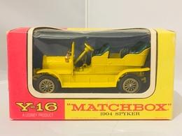 Matchbox Spyker 1904   Model Cars