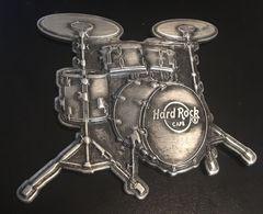 Pewter 3D Drum Set Magnet  | Magnets