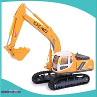 KDW Die Cast Model Truck 1:40 Crawler Excavator | Model Construction Equipment
