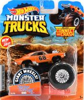 Dodge Charger R/T | Model Trucks | 2019 Hot Wheels Monster Truck with Connect and Crash Car Dodge Charger R/T Orange
