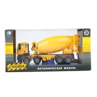 KDW OEM Die Cast Model Truck Cement Mixer | Model Construction Equipment