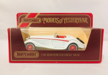 Matchbox 1938 Mercedes-Benz 540 K | Model Cars