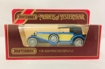 Matchbox Mercedes-Benz SS 1928 | Model Cars