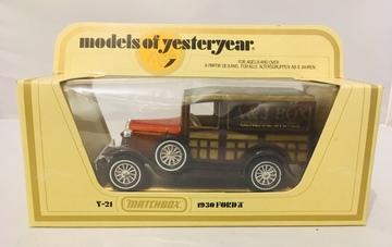Matchbox 1930 Ford X  | Model Cars