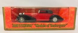 Matchbox 1938 Hispano Suiza   Model Cars