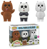 Grizz%252c panda and ice bear %2528flocked 3 pack%2529 vinyl art toys 23e2359e cc7a 48c0 ab74 fed7f2037a9f medium