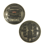 Knight Rider Prototype Mold | Challenge Coins