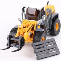KDW OEM Die Cast Model Truck 1:50 Forklift Loader | Model Construction Equipment