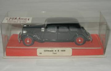 Citroen Traction 11B 1939 Taxi | Model Cars