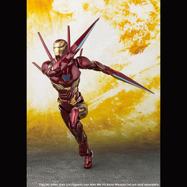 Iron Man Mk-50 Nano-Weapon Set | Action Figures