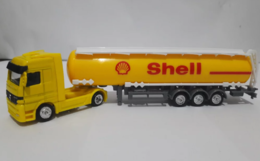 Welly 1%253a87 die cast mercedes benz shell oil tanker model vehicle sets 02d65870 e00e 4334 b219 465245f82651 medium