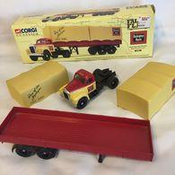 Corgi classics burlington route mack b semi tractor trailer 52802 model vehicle sets 12b77310 3963 418b bd79 ee906f95a697 medium