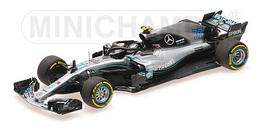 Mercedes F1 W09 Hybrid - Valtteri Bottas - 2018 | Model Racing Cars