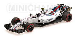 William Mercedes FW40 - Lance Stroll - 3rd Azerbaijan Grand Prix 2017 | Model Racing Cars