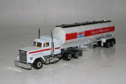 Road Champs Diecast #18 Mack Exxon Oil Tanker Tractor Trailer Semi, HO / 1:87 #2 | Model Vehicle Sets