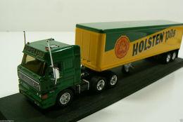 Matchbox Holsten Pils Semi Truck Trailer Model Die Cast 1:100 Replica New | Model Vehicle Sets