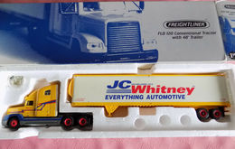 First gear 1%253a54 scale freightliner fld 120 semi truck die cast %2527j. c. whitney%2527 model vehicle sets 2b67877f 58c1 4f90 a407 15fe27242572 medium